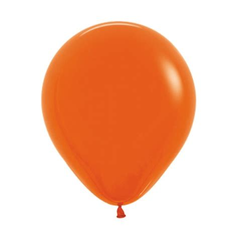 up a balloon with orange 18 inch solid orange color balloon from category