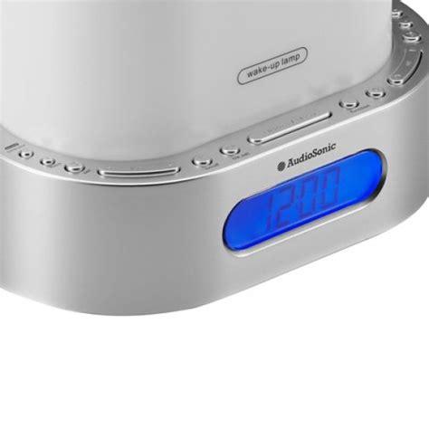 alarm clock with light audiosonic cl505 radio alarm clock with light buy at