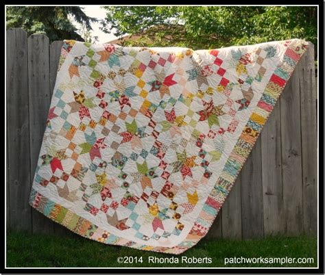 Jelly Roll Patchwork Quilt Patterns - friday finish road to oklahoma patchwork sler