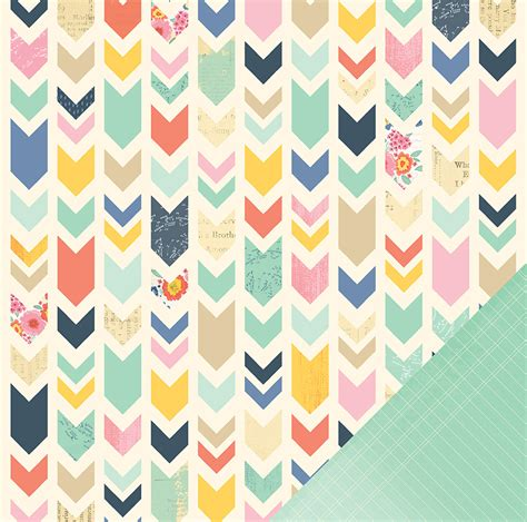 American Craft Paper - american crafts dear lizzy lucky charm collection 12 x
