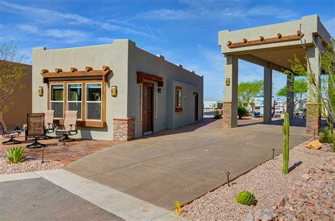 arizona style homes superstition views rv resort in gold canyon az for 55