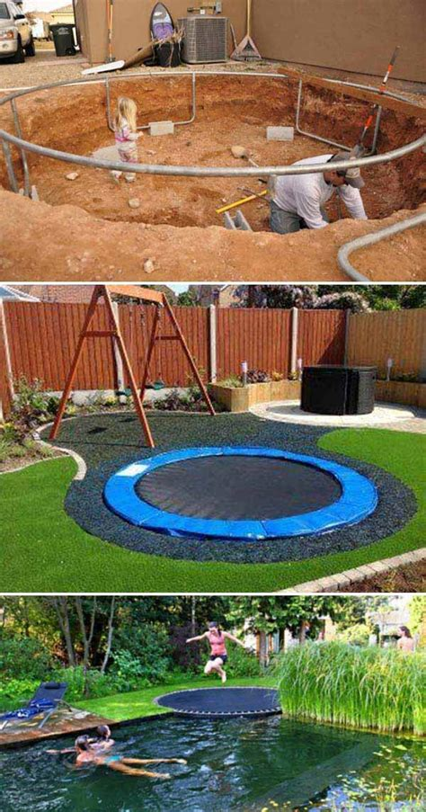 cool backyard ideas turn the backyard into and cool play space for