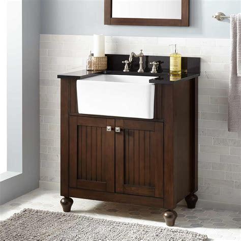 nellie farmhouse sink vanity antique coffee bathroom vanities bathroom