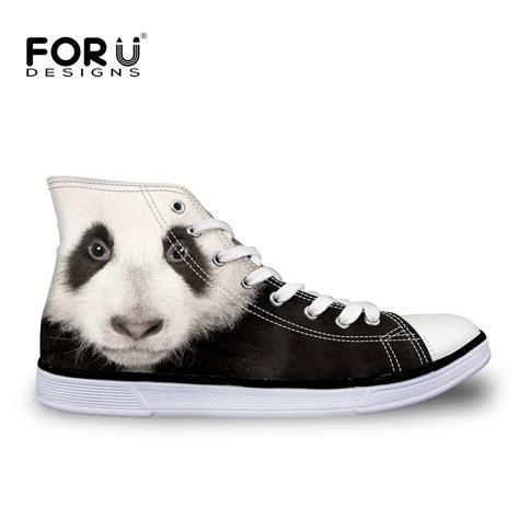 panda shoes high top panda canvas shoes