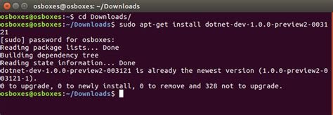 tutorial linux server ubuntu tutorial quick start up for net core on windows and