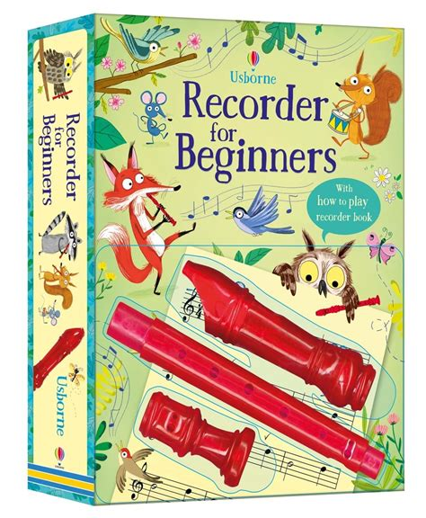 usborne picture books gift set recorder for beginners gift set at usborne children s books