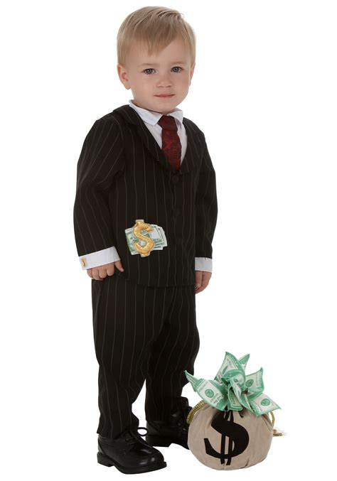 toddler boy costumes toddler gangster costume