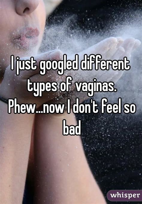 there are at least 8 types of vaginas which one is yours i just googled different types of vaginas phew now i