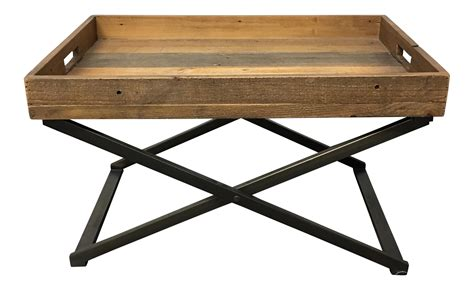 west elm ottoman tray west elm low butler tray coffee chairish