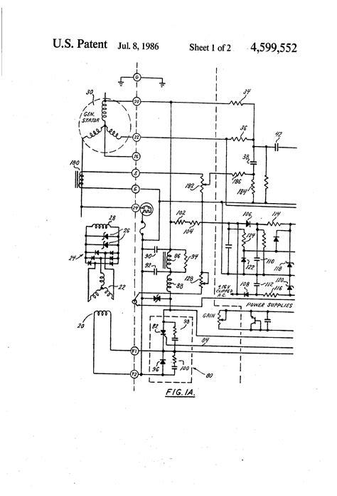 dc generator voltage regulator wiring diagram components