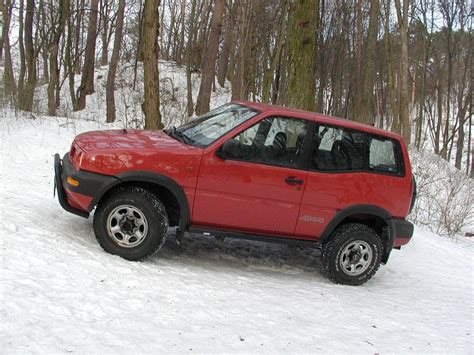 nissan terrano road nissan terrano road test