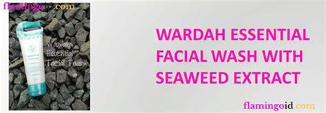Wardah Essential Wash sabun muka untuk kulit kering flamingoid