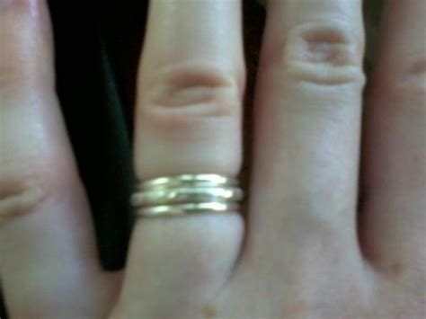 Wedding Ring Tight by How Tight Is Your Ring Weddingbee
