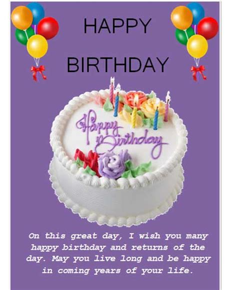printable birthday cards microsoft word best photos of happy birthday list template birthday