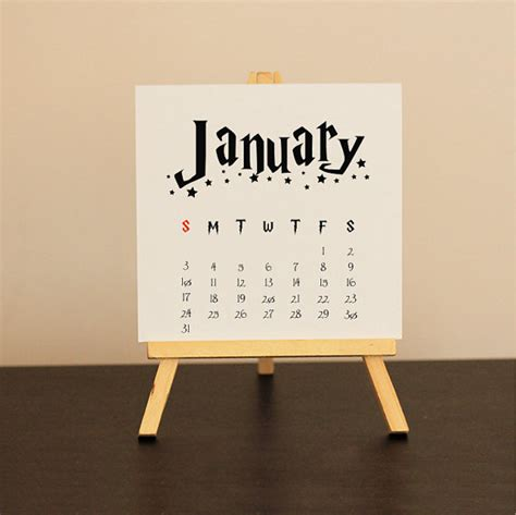 Harry Potter Calendar 2016 Harry Potter Christmas By