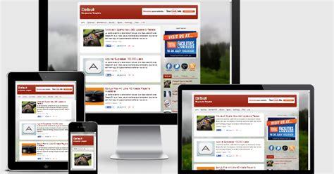 default responsive blogger template blogger templates