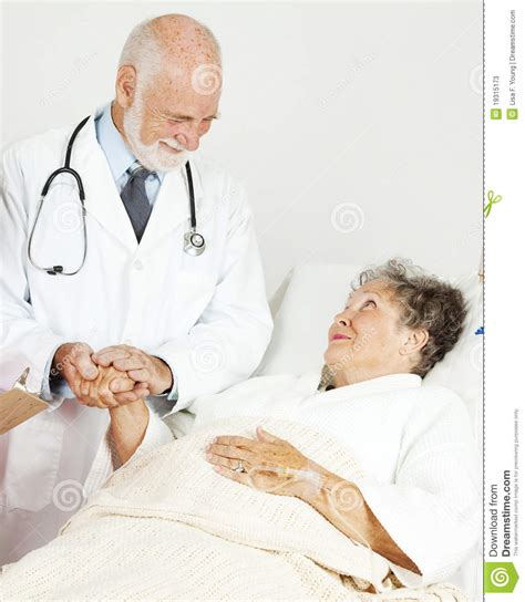 doctor comforting patient doctor comforting senior patient stock photos image