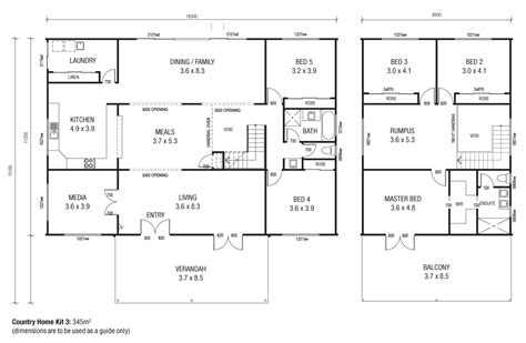 country floor plans country homes 3 floor plans like the floor plan but could do with some tweaks to bottom floor