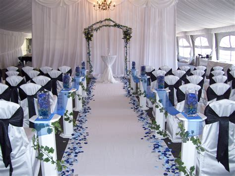 Wedding Aisle Runners Pretoria by 20 Ideas With Silver And Blue Wedding Decorations