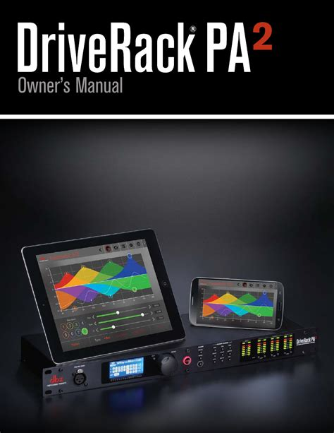 Dbx Driverack Pa 2 Original Garansi Csa 1 Tahun dbx driverack pa2 user manual 70 pages