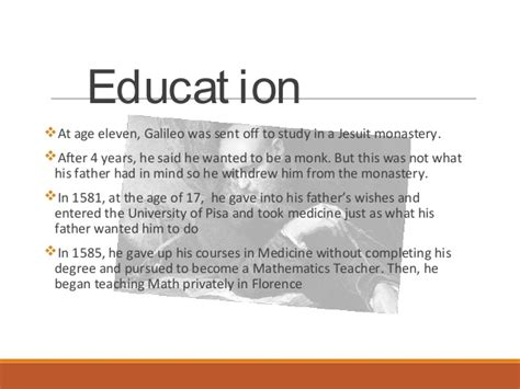 galileo galilei education biography galileo galilei biography