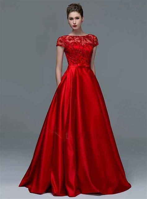 vestidos de gala largos verdes encaje pedreria elegantes juveniles vestidos de fiesta noche color rojo aquimoda com