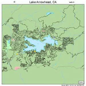 lake arrowhead california map california map