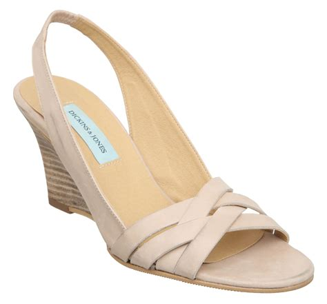 dickins jones goldcrest dj wedge strappy sandals in