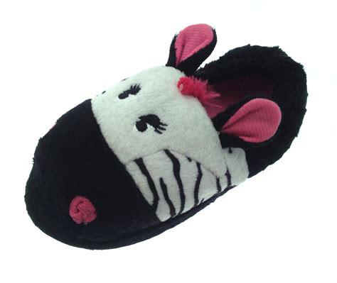 animal slippers 3d novelty slipper boots booties plush animal