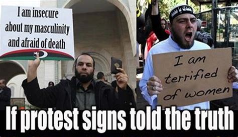 Protest Meme - if believers protest signs told the truth friendly atheist