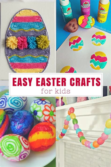 simple easter crafts for easy easter crafts for the crafty mummy