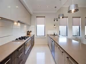 Small Corridor Kitchen Design Ideas Corridor Style Kitchen Photos