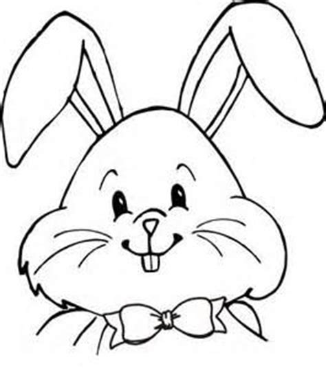 rabbit head coloring page big bunny face drs designs rubber sts and more