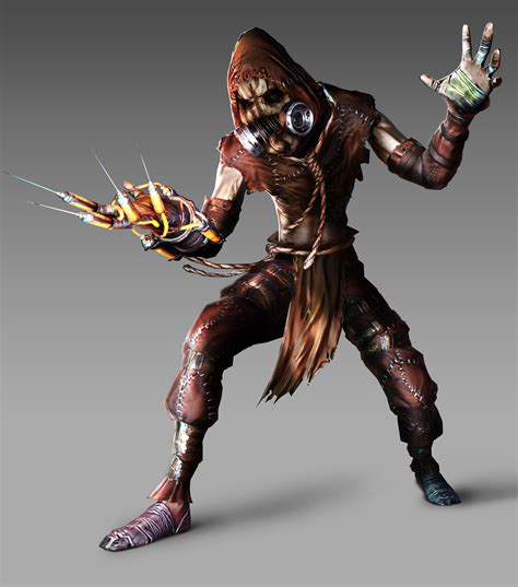 review gt scarecrow batman arkham asylum dc direct