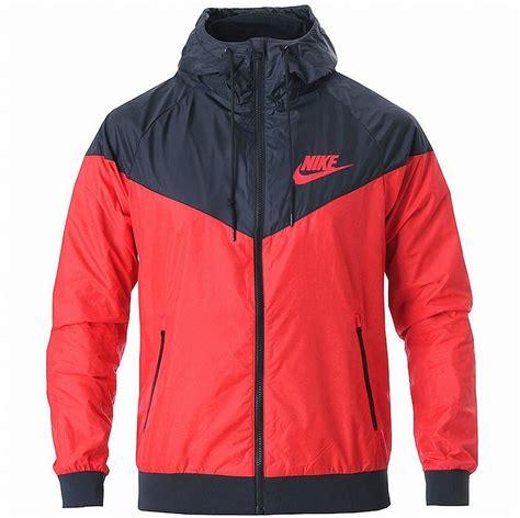 Jaket Nike Windrunner Br nike as windrunner hoody jacket black windbreaker running new