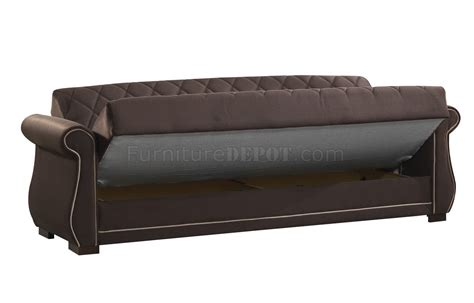 Sleeper Sofa Options Deluxmark Sofa Bed In Brown Fabric By Casamode W Options
