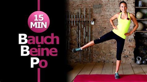 bauch beine po workout für zuhause best 25 bauch beine po workout ideas on bauch