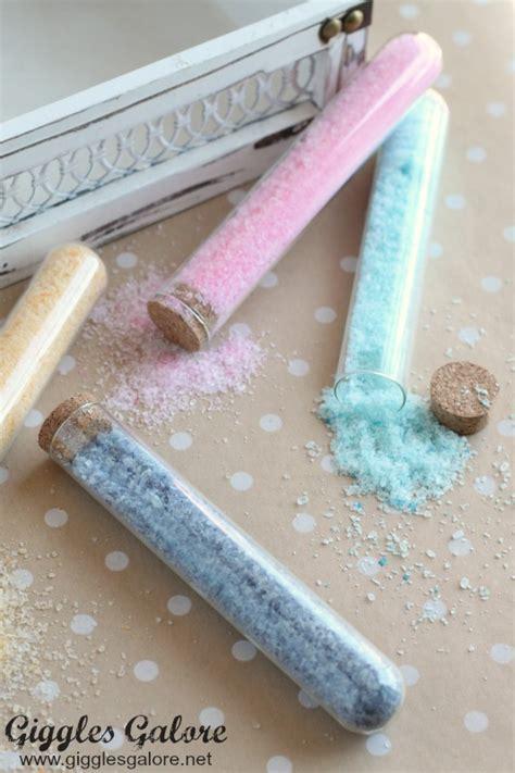 how to use bath salts in the shower diy bath salts spa gift basket