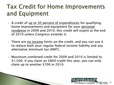 tax credit for home improvements 28 images year end