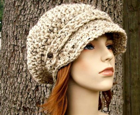 crochet ideas for women on pintrest free slouchy newsboy hat crochet pattern knit 2 fit