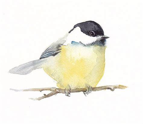 watercolor tutorial chickadee 37 best watercolor birds tutorials images on pinterest