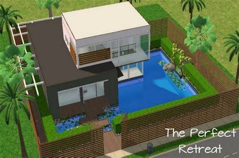 best sim house designs m4mysterious the perfect retreat