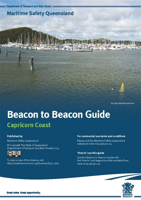 boating license booklet discovery and capricorn coast guides maritime safety