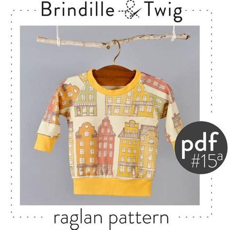 pattern baby sweatshirt baby pdf sewing pattern for raglan sweatshirt sizes 0 3 3
