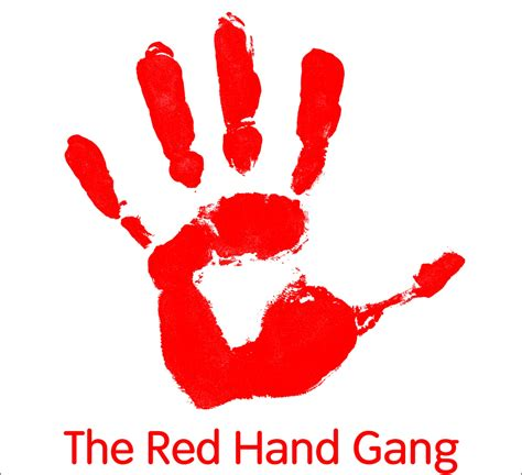red hands the red hand gang pop cafe gallery