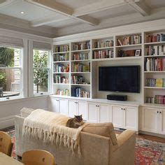 houzz built in bookcases 1000 ideas about tv bookcase on bookcases
