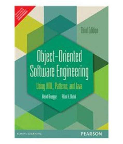 design pattern in object oriented software engineering object oriented software engineering using uml patterns