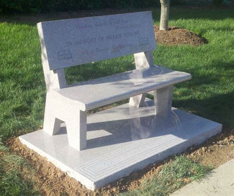 stone benches for cemetery 16 best cremation pedestals images on pinterest