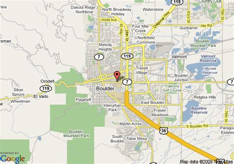 bed and breakfast boulder map of briar rose bed and breakfast boulder