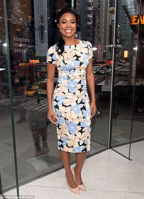 Promo Hm Floral Pastel Dress gabrielle union reveals how she keeps marriage to miami